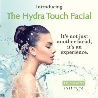 NEW Cutting Edge Hydra Touch Facial